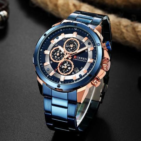 Curren New Chronograph Watch (Dial 4.8cm) - CUR176 – Curren Watch
