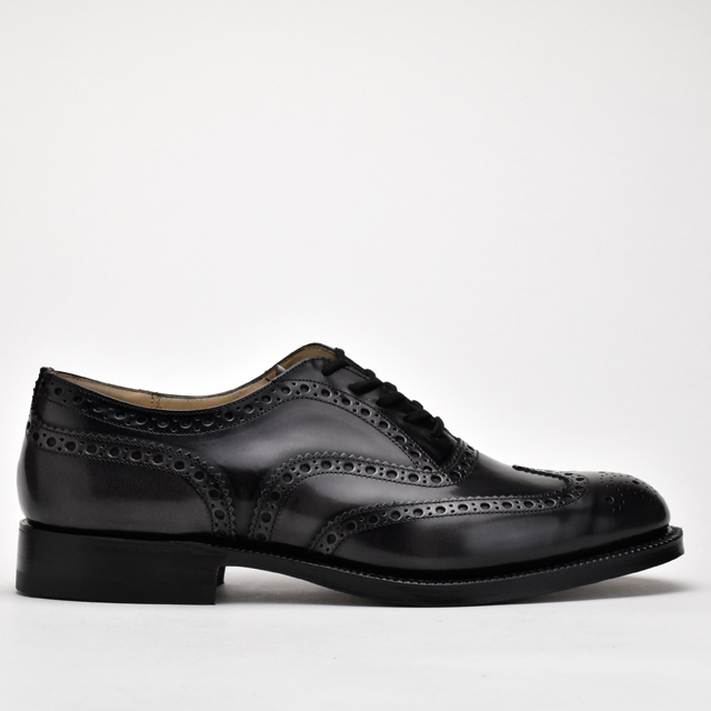Cloud Shoe Company: Feather-type wing tip medallion race up shoes .
