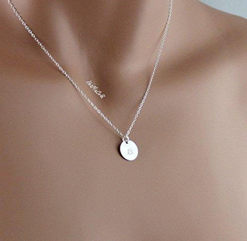 Amazon.com: Customized Monogram Pendant Necklace, Personalized .