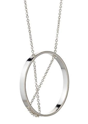 Inner Circle Necklace in Sterling Silver - Vanessa Gade Jewelry Desi