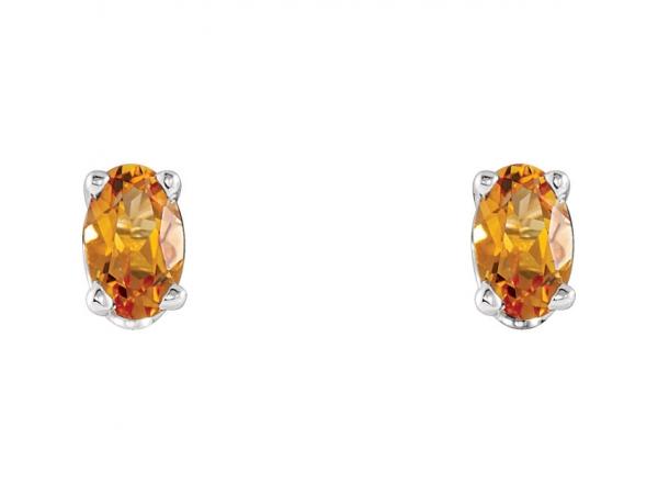 Citrine Earrings 1920:120:P | Colored Stone Earrings from Miller's .