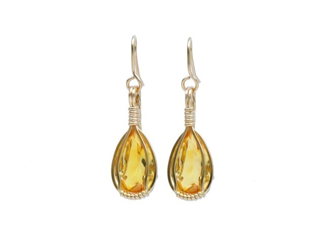Citrine Earrings™ - Jewel
