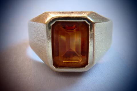 Men's 18k Citrine Ring | I Do Now I Don