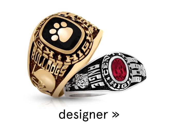 Class Rings - Custom Class Rings | K