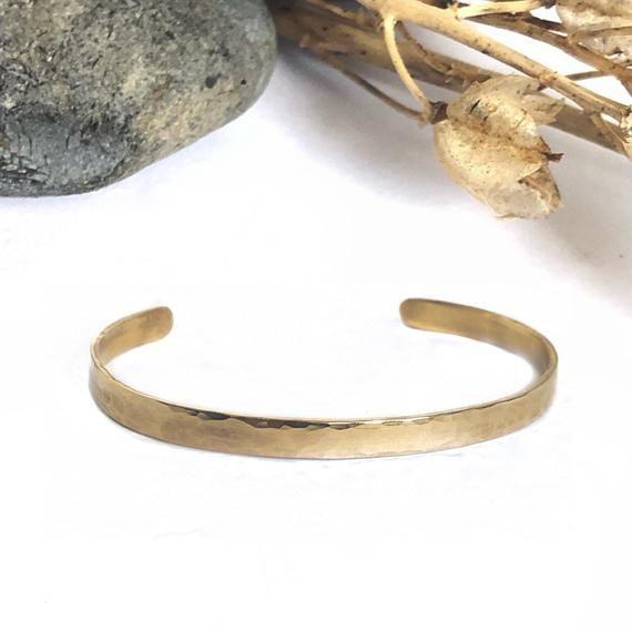9ct solid gold cuff bracelet, stackable bracelet, elegant classic .