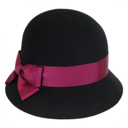 Black Cloche Hats at Village Hat Sh