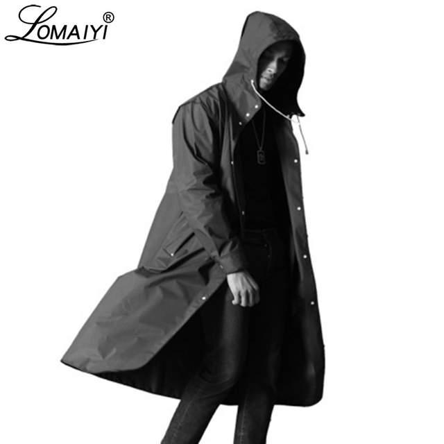 LOMAIYI Men's Waterproof Jacket Men Breathable Rain Coat Male .