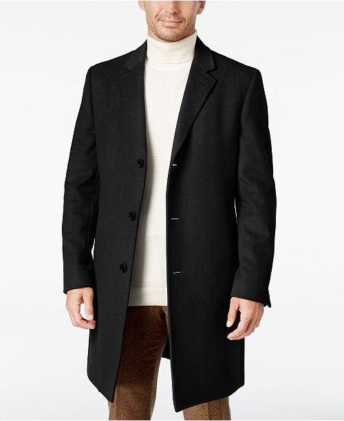 Lauren Ralph Lauren Men's Luther Wool Blend Top Coat & Reviews .