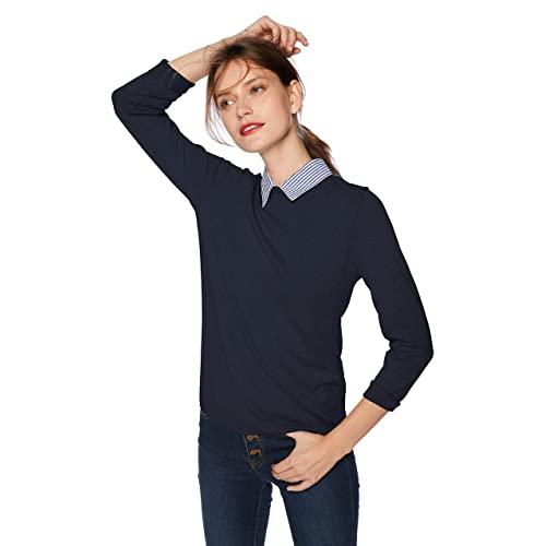 Sweater with Collar: Amazon.c