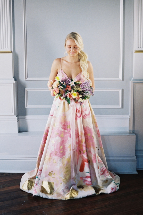We are freaking out about this incredible, colorful, floral .
