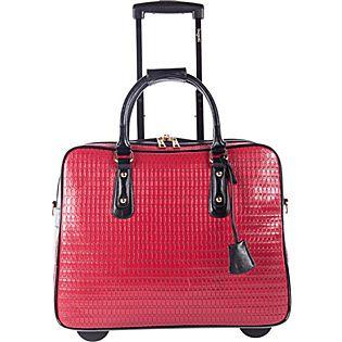 Bugatti Ladies Rolling Business Case | Laptop bag for women .
