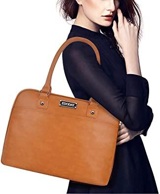 Amazon.com: Laptop Tote Bag,15.6 Inch Laptop Bag for Women Classic .