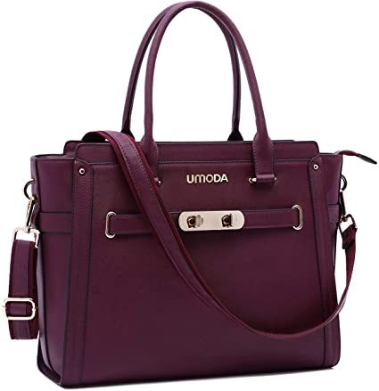Amazon.com: UMODA Laptop Bag for Women,15.6 Inch Multi Pocket .