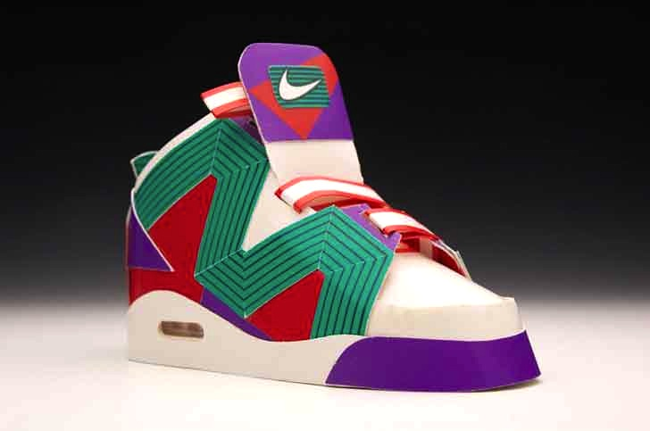 Jason Ruff Fashions Cool Sneakers From Recycled Cigarette Carto