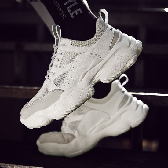 China Fashion Cheap White Sneakers Chunky Shoes, Best Quality .