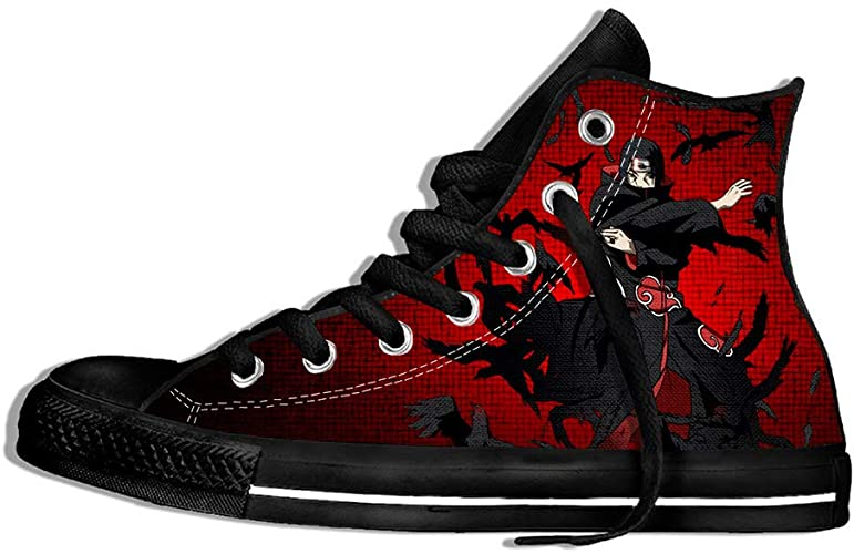 Amazon.com | HFRNRS Unisex 3D Japanese Anime Naruto Shoes .