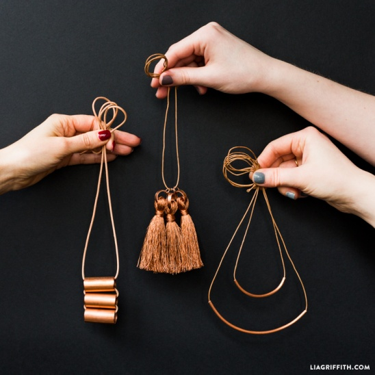 DIY Copper Jewelry by lia griffith | Project | Jewelry / Women's .