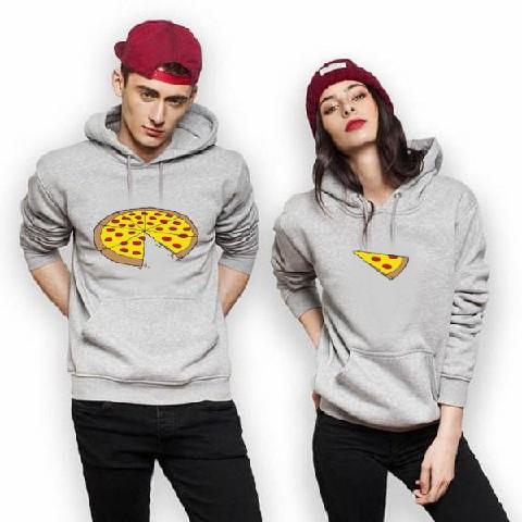 Pizza Couple Hoodies – AMTHI