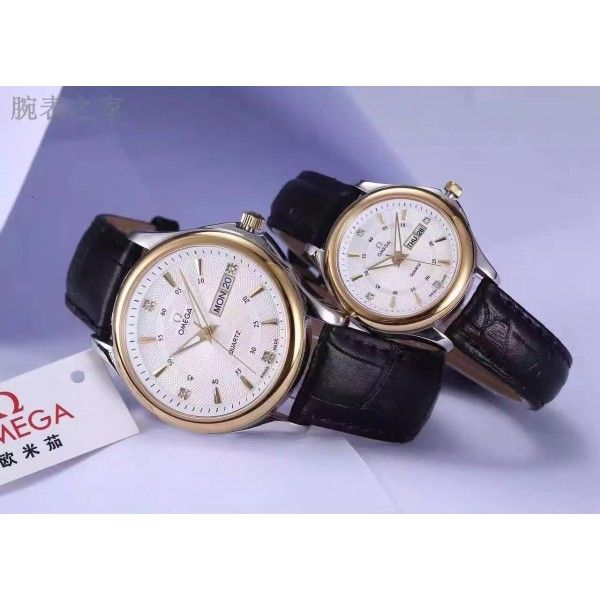Omega Calendar Couple watches : Perfect choice for lovers with .