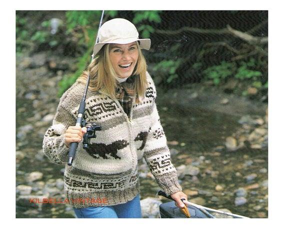 Cowichan Sweater Knitting Pattern White Buffalo Wool Polar | Et