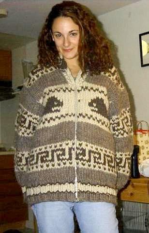 Classic brown cowichan sweater | Classic cowichan, maybe ove… | Flic