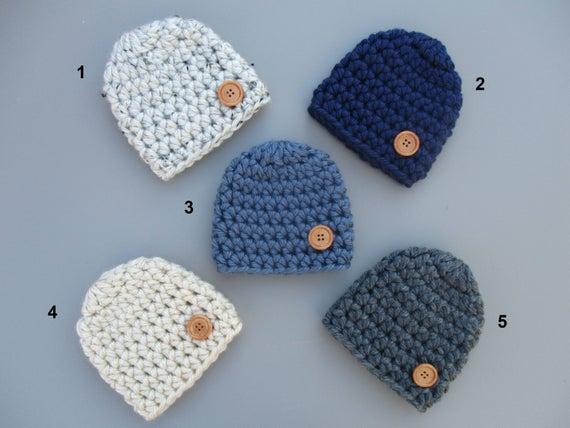 Baby Boy Hat Beanie Crochet Baby Hat Newborn Baby Hats Baby | Et