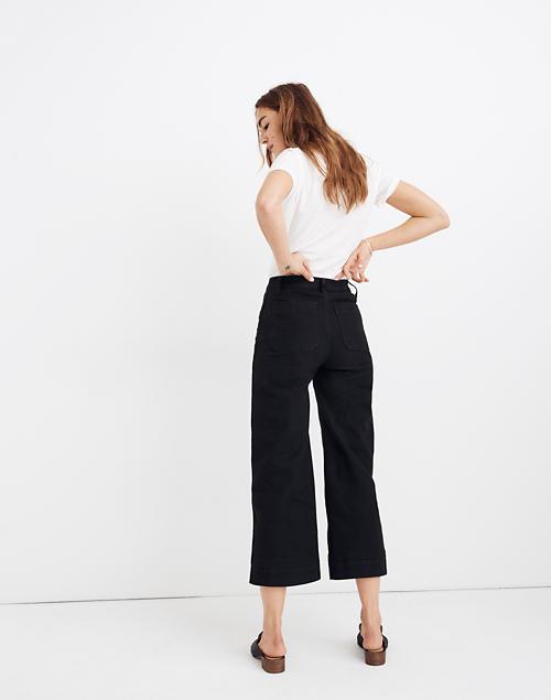 Women's Emmett Wide-Leg Crop Pants | Madewe