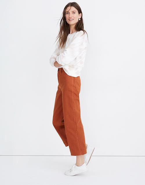 Women's Slim Emmett Wide-Leg Crop Pants | Madewe