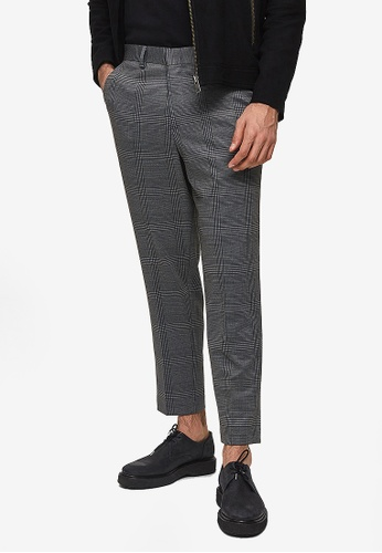 Shop Selected Homme Tapered Jersey Crop Pants Online on ZALORA .