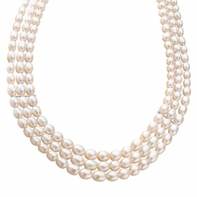 Sweet Harmony Cultured Pearl Necklace | The Danbury Mi
