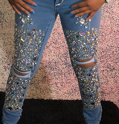 Custom Jeans | karmasklosetboutiq