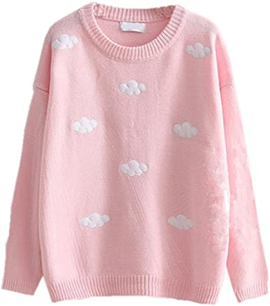 Packitcute Loose Knitted Sweaters for Juniors Girls Autumn Winter .