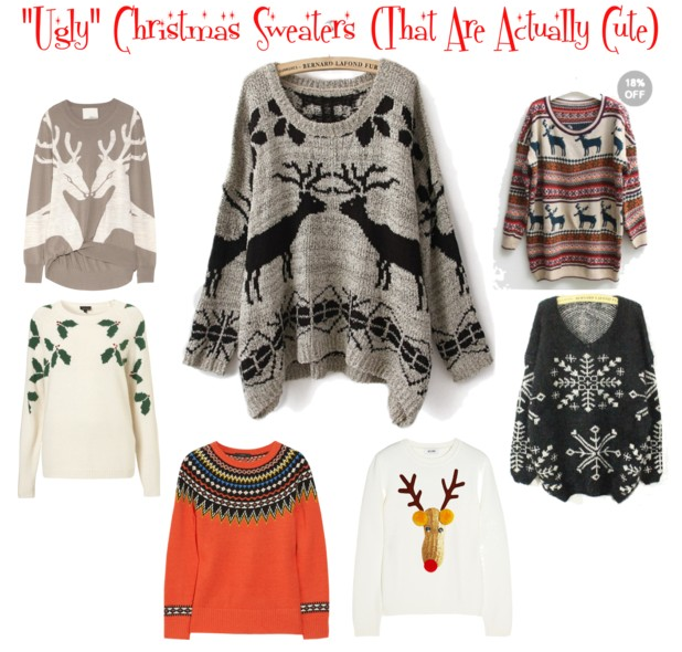 """Ugly"""" Christmas Sweaters (That Are Actually Cute) – Ramshackle Gl"""