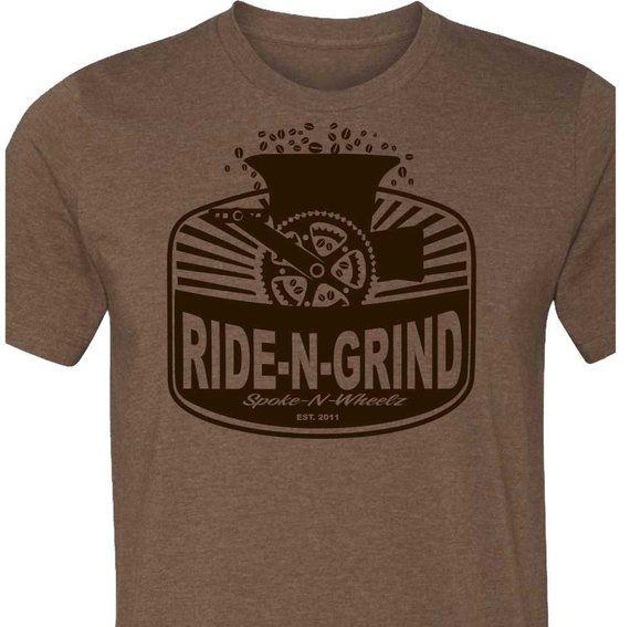Bicycle T-Shirt -Gravel Bike T-shirt-RIDE-N-GRIND-Bike T-shirt-4 .