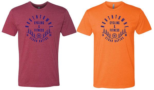 Northtowne Cycling T-Shirt: Camp design - Northtowne Cycling .