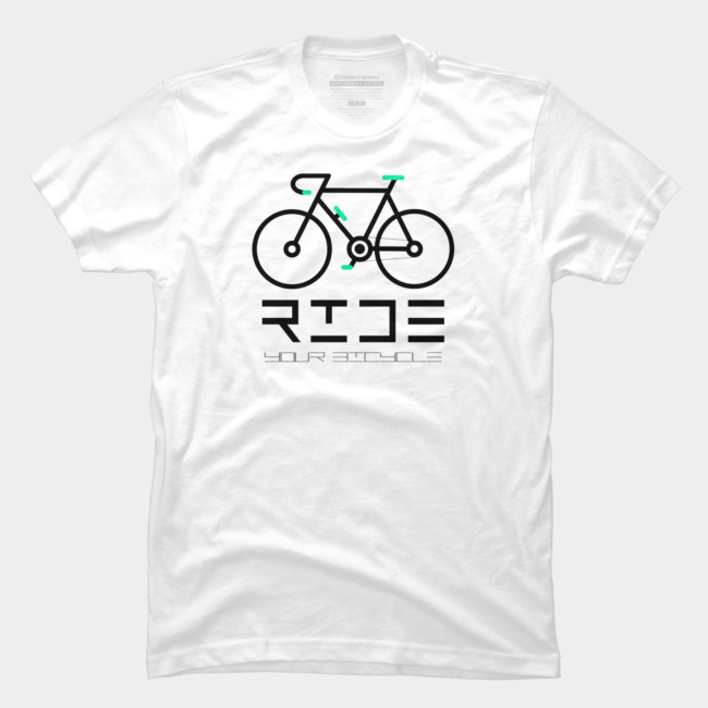 Cycle Your Bike And Ride A Bicycle Often Keep Cycling T Shirt By .