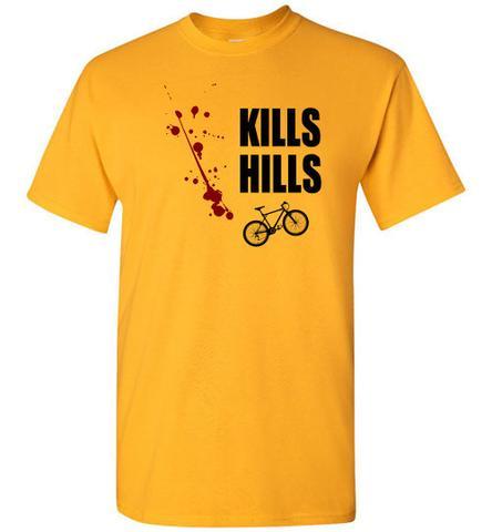 Kills Hills' Cycling T-Shirt – I Love Road Cycli