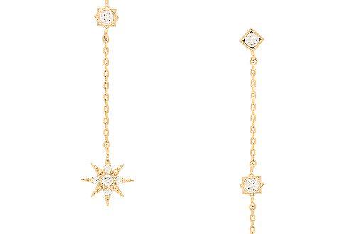 Child of Wild x REVOLVE Starburst Dangle Earrings in Gold | REVOL