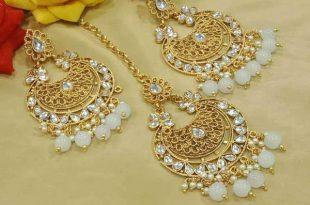 Designer Earrings and Maang Tikka – FashionVib