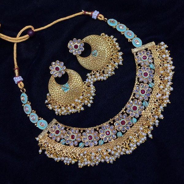 Designer Jewellery with Kundan and Beads work | An Expe