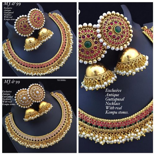 Wedding Wear Imitation Designer Kundan Jewellery, Rs 450 /piece .