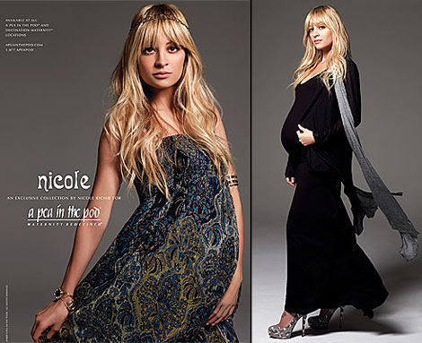 Nicole Richie's Maternity Collection For A Pea In The Pod - StyleFri