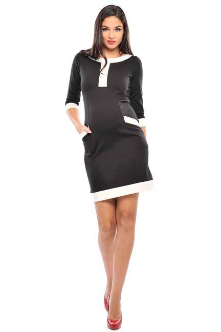 Caroline Ponte Pocket Maternity Dress by Olian | Maternity Clothes .