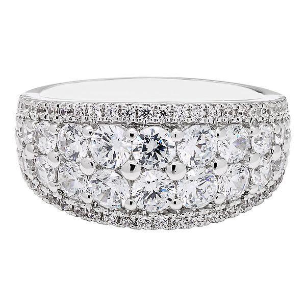 2 ct. tw. Diamond Band in 14K White Gold - 2284463 - Helzberg .