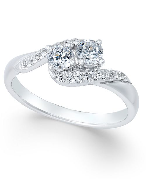 Two Souls, One Love® Diamond Anniversary Ring (1/2 ct. t.w.) in .