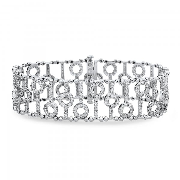Diamond Bracelets for Women : Houston Diamond Bracelets for Wom