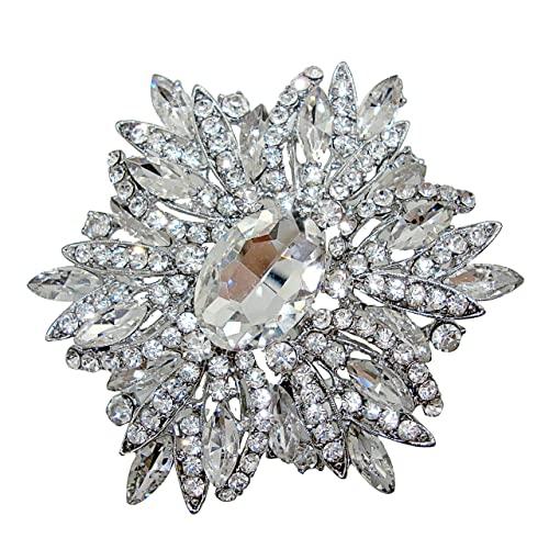 Diamond Brooch Pin: Amazon.c