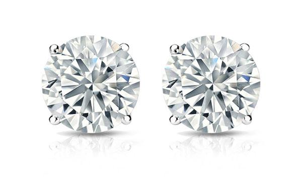 Diamond Stud Earrings For M