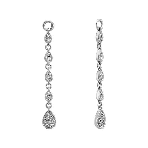 Vintage Dangle Diamond Earring Jackets | Shane C