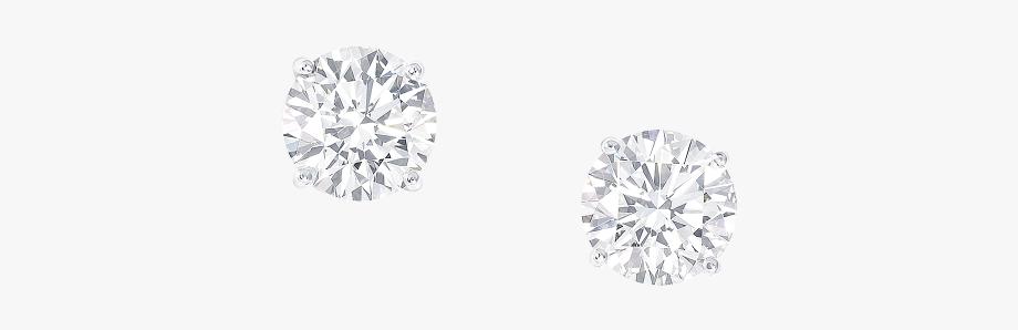 Diamond Earrings Clipart - Graff Earring Studs , Transparent .